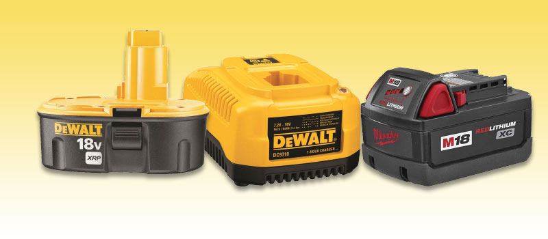 POWER TOOLS BATTERIES/CHARGERS - HOME IMPROVEMENT OUTLET