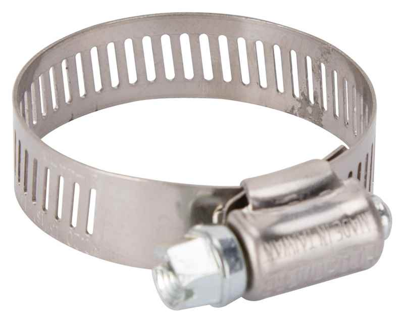 "HOSE CLAMP - PROSOURCE HCRAN20 INTERLOCKED 13/16"" - 1-3/4"" STAINLESS STEEL - HOME IMPROVEMENT OUTLET"
