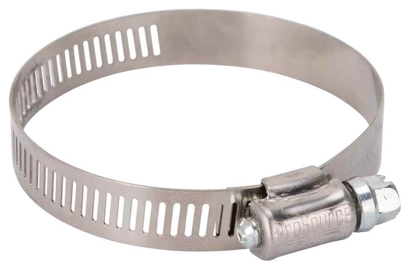 "HOSE CLAMP - PROSOURCE HCRAN36 INTERLOCKED 1-13/16"" - 2-3/4"" STAINLESS STEEL  - HOME IMPROVEMENT OUTLET"