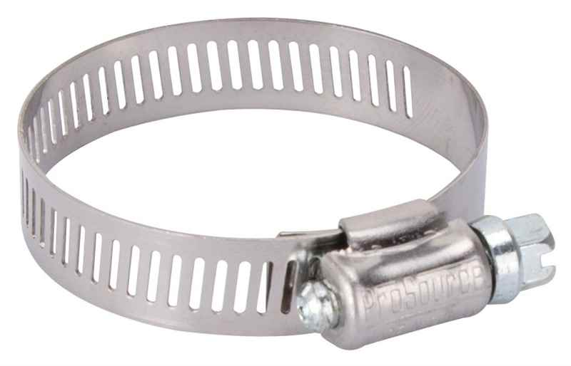 "HOSE CLAMP - PROSOURCE HCRAN24 INTERLOCKED 1-1/16"" - 2"" STAINLESS STEEL  - HOME IMPROVEMENT OUTLET"