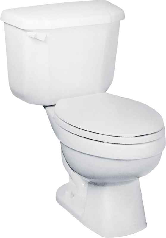TOILET - JOHN-IN-A-BOX ROUND BOWL CHINA WHITE - HOME IMPROVEMENT OUTLET