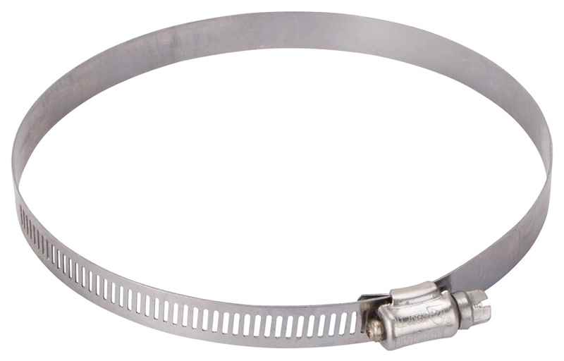 "HOSE CLAMP - PROSOURCE HCRSS80 INTERLOCKED 4-5/8"" - 5-1/2"" STAINLESS STEEL - HOME IMPROVEMENT OUTLET"