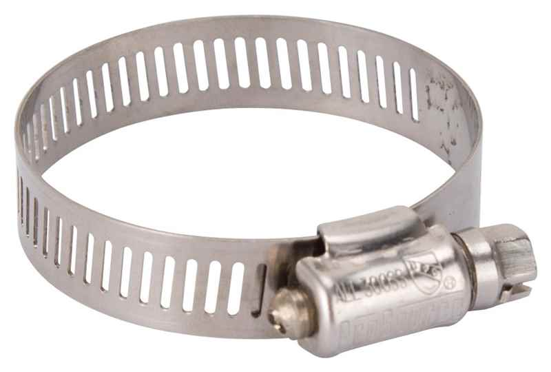 HOSE CLAMP SS #24/SS SCREW - HOME IMPROVEMENT OUTLET