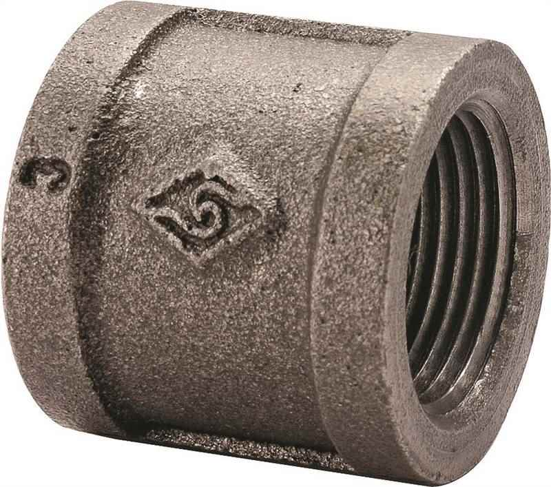 Main 4 - 1/2 Black Malleable Coupling - HOME IMPROVEMENT OUTLET
