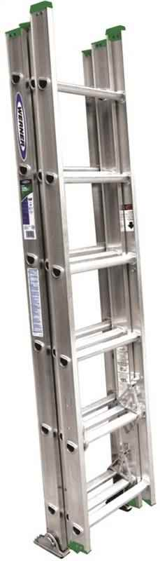EXT LADDER - 16' 3 SECTION CMPCT T2 - HOME IMPROVEMENT OUTLET