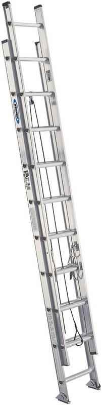 EXT LADDER - 24' TYPE1A ALUM - HOME IMPROVEMENT OUTLET