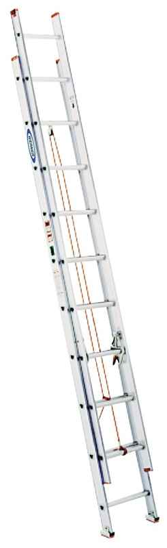 EXT LADDER - 20FT ALUMINIM EXT 200 LB - HOME IMPROVEMENT OUTLET