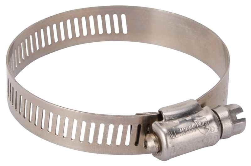 HOSE CLAMP SS #32/SS SCREW - HOME IMPROVEMENT OUTLET