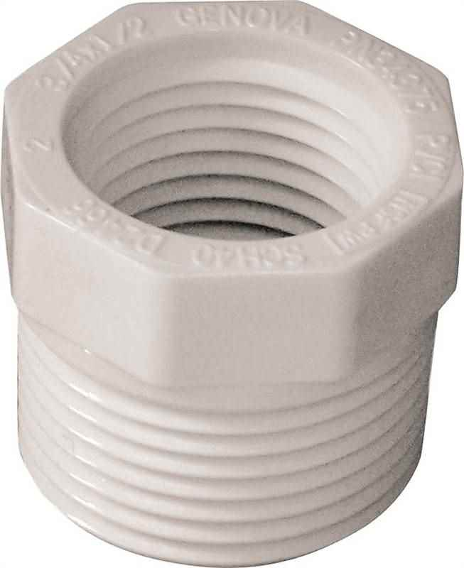 PVC REDUCER BUSHING - 34375 3/4MPTX1/2FP - HOME IMPROVEMENT OUTLET