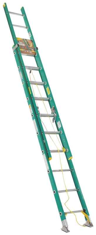 EXT LADDER - 20' TYPE2 FBGL - HOME IMPROVEMENT OUTLET