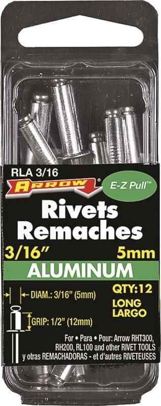 "RLA3/16 LONG ALUM RIVET 3/16"" - HOME IMPROVEMENT OUTLET"