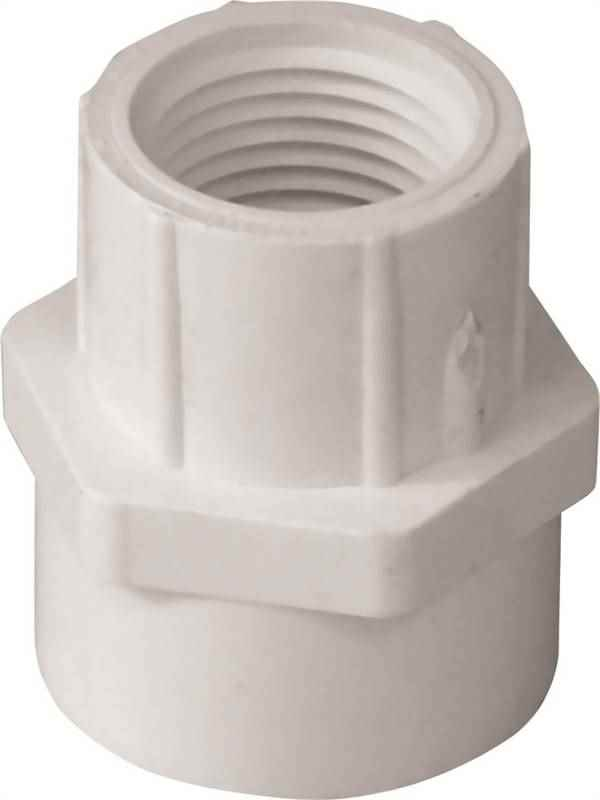 PVC FEMALE ADAPTER - 30376 3/4FPTX1S - HOME IMPROVEMENT OUTLET