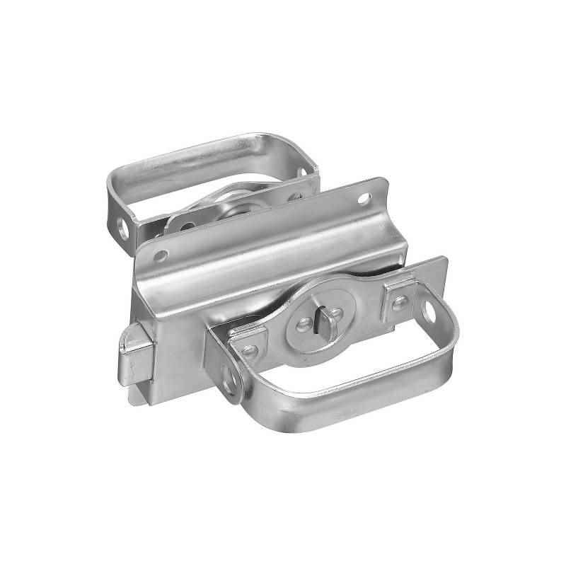 National Hardware - Heavy-Duty Swinging Door Latch, N101-600 / V25 Series, Steel, Zinc - HOME IMPROVEMENT OUTLET
