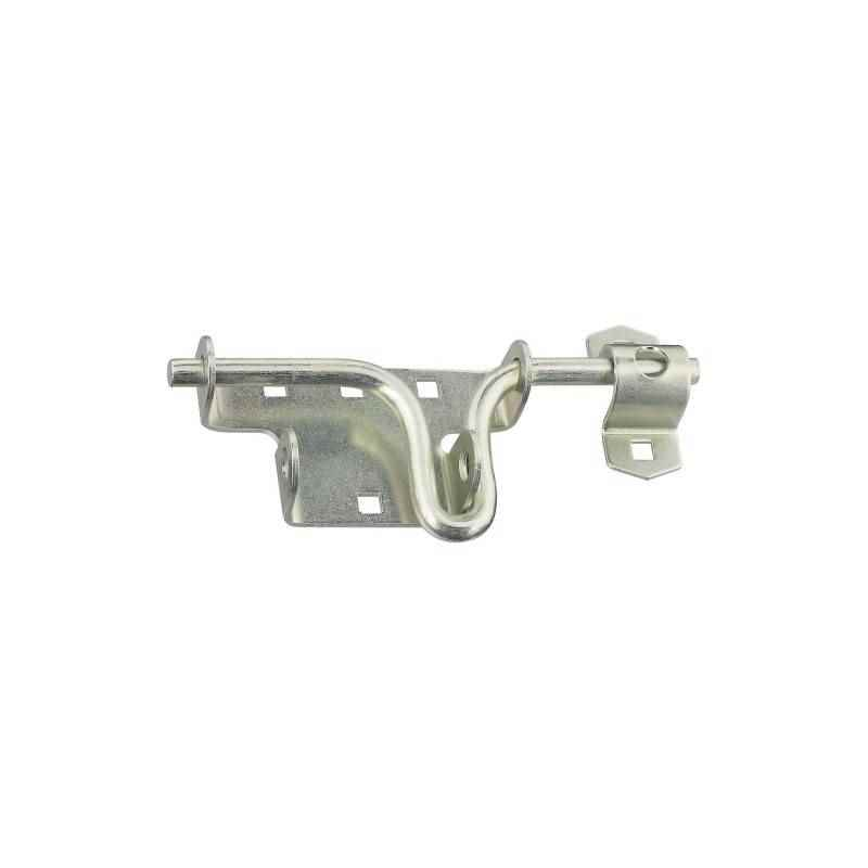 National Hardware - Door Gate Latch, N165-555 / Steel, Zinc - HOME IMPROVEMENT OUTLET