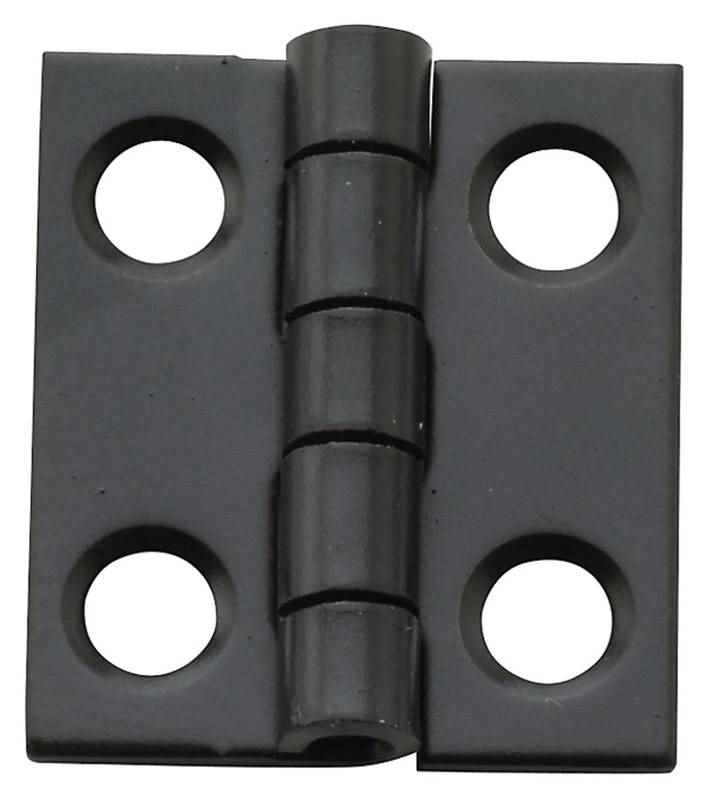 National Hardware - Decorative Narrow Hinge,  N211-018 / Steel, Oil-Rubbed Bronze - HOME IMPROVEMENT OUTLET