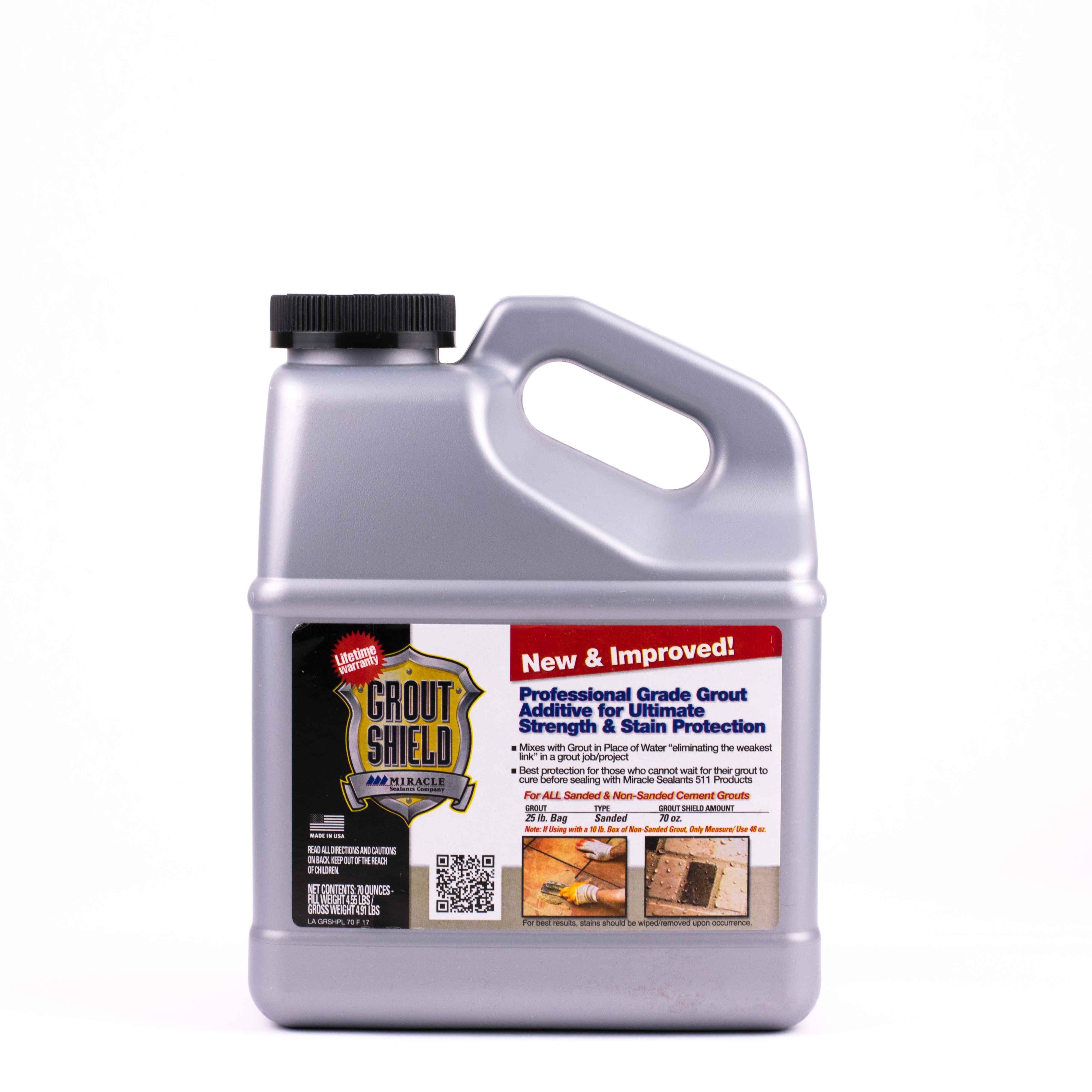 GROUT SHIELD - MIRACLE NEW&IMPR 70oz - HOME IMPROVEMENT OUTLET