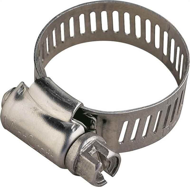 HOSE CLAMP SS #12/SS SCREW - HOME IMPROVEMENT OUTLET