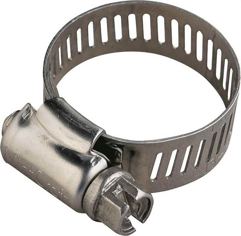 HOSE CLAMP SS #40/SS SCREW - HOME IMPROVEMENT OUTLET