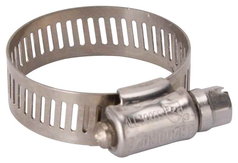 HOSE CLAMP SS #16/SS SCREW - HOME IMPROVEMENT OUTLET