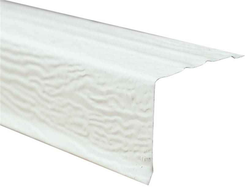 Drip Edge 1 1 2 X 1 1 2 Wht Drip Edge Rain Diverter The Home Improvement Outlet