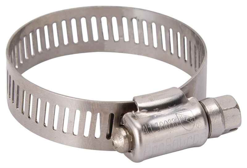 HOSE CLAMP SS #20/SS SCREW - HOME IMPROVEMENT OUTLET