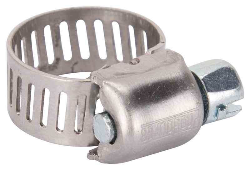 "HOSE CLAMP - PROSOURCE HCMAN04 INTERLOCKED 7/32"" - 5/8"" CARBON SCREW - HOME IMPROVEMENT OUTLET"