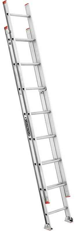 EXT LADDER - 16' ALUMN TYPE III 200LB - HOME IMPROVEMENT OUTLET