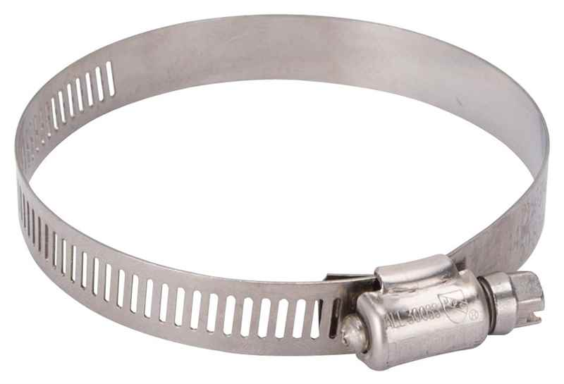 HOSE CLAMP SS #44/SS SCREW - HOME IMPROVEMENT OUTLET