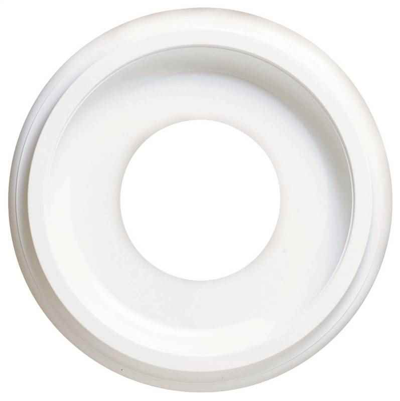 "ROSETTE - CANOPY 10"" WHITE CONTEMPO - HOME IMPROVEMENT OUTLET"