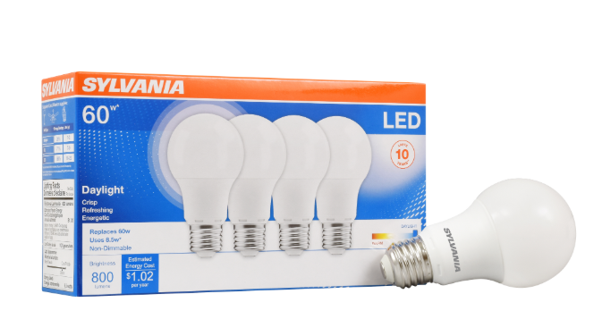 Main 1 - Bulb, 79284 LED 8.5W/60W A19 5k - HOME IMPROVEMENT OUTLET