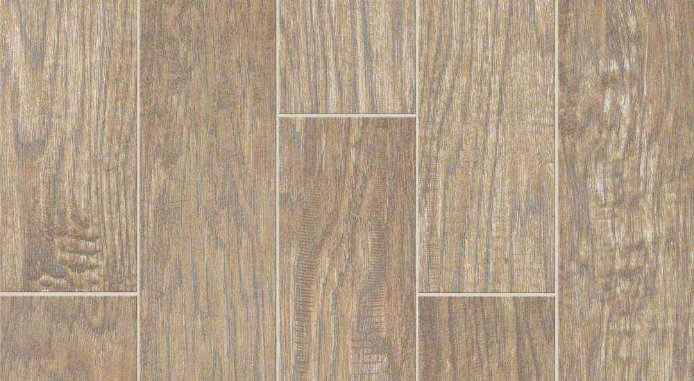 SHAW - Petrified Hickory Relic 0500 Glazed Porcelain Plank 6 x 36 - HOME IMPROVEMENT OUTLET