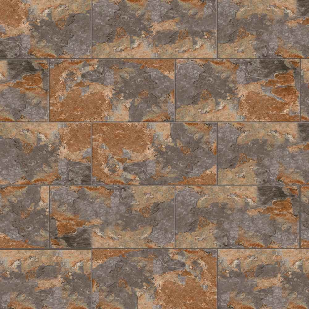 Thumbnail 2 - Marazzi, Vita Elegante Ardesia Multi Porcelain 12-inch x 24-inch, Stone Look Tile - HOME IMPROVEMENT OUTLET
