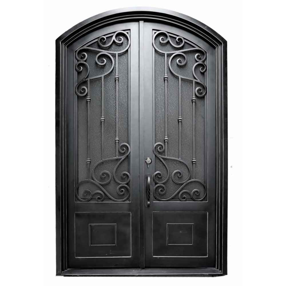 "IRON DOOR - BARCELONA 60"" X 96"" DBL UNIT - HOME IMPROVEMENT OUTLET"