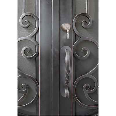 Preview Thumbnail 2 - Iron Door, Bristol 60-inch x 96-inch, Double Unit - HOME IMPROVEMENT OUTLET
