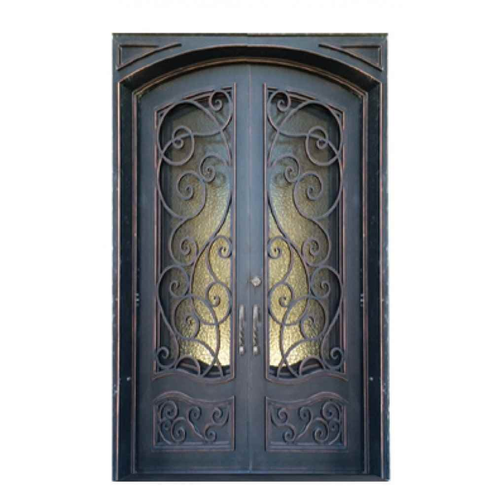 "IRON DOOR - BRISTOL 60"" x 96"" DBL - HOME IMPROVEMENT OUTLET"