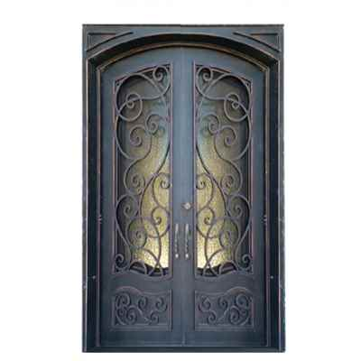 Preview 1 - Iron Door, Bristol 60-inch x 96-inch, Double Unit - HOME IMPROVEMENT OUTLET