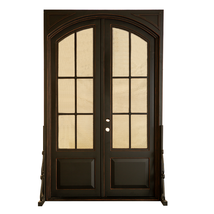 "IRON DOOR - HERITAGE 60"" X 96"" DBL - HOME IMPROVEMENT OUTLET"