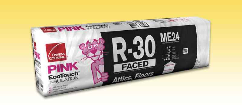 INSULATION - R30 OC 16x48 58.67 FACED - HOME IMPROVEMENT OUTLET