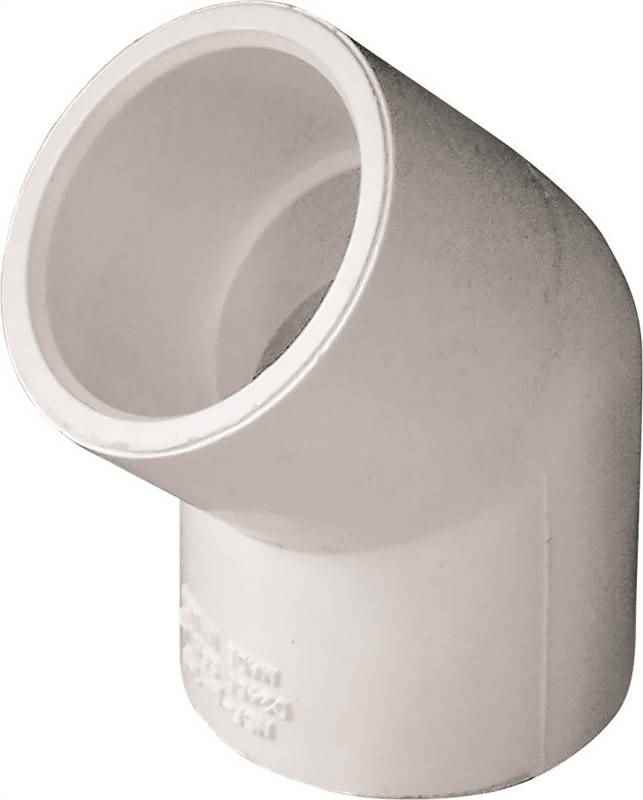 "PVC - 3/4"" ELBOW 45 DEGREE - HOME IMPROVEMENT OUTLET"