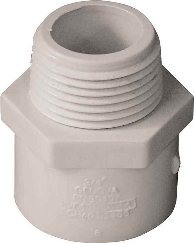PVC - 3/4 MALE ADAPTER - HOME IMPROVEMENT OUTLET