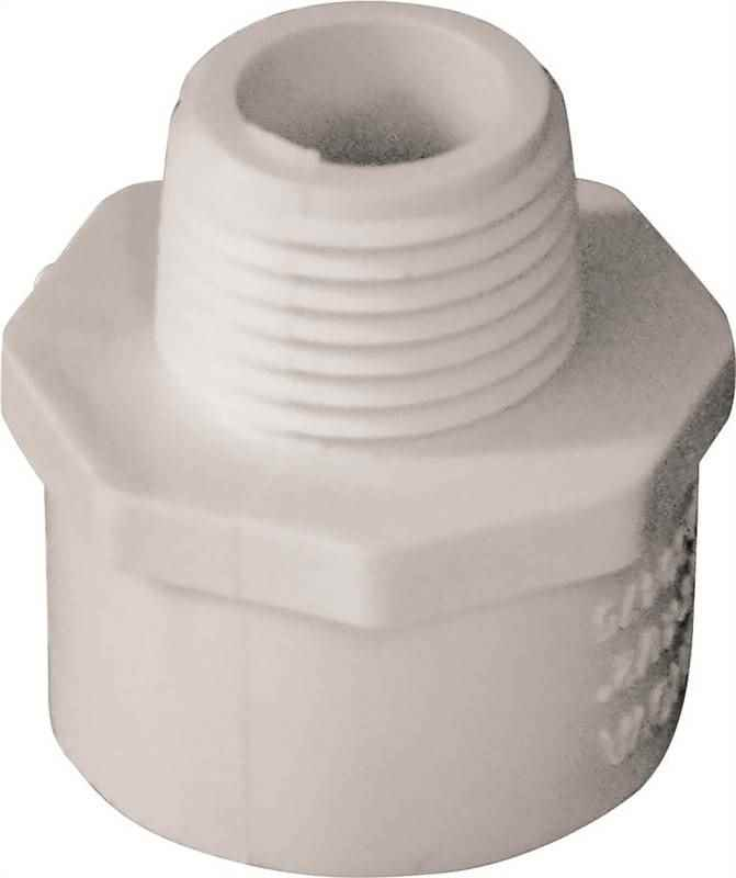 PVC - 3/4S-1/2MPT ADAPTER - HOME IMPROVEMENT OUTLET