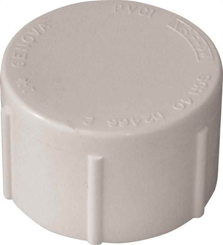 "PVC - 3/4"" THREADED CAP - HOME IMPROVEMENT OUTLET"