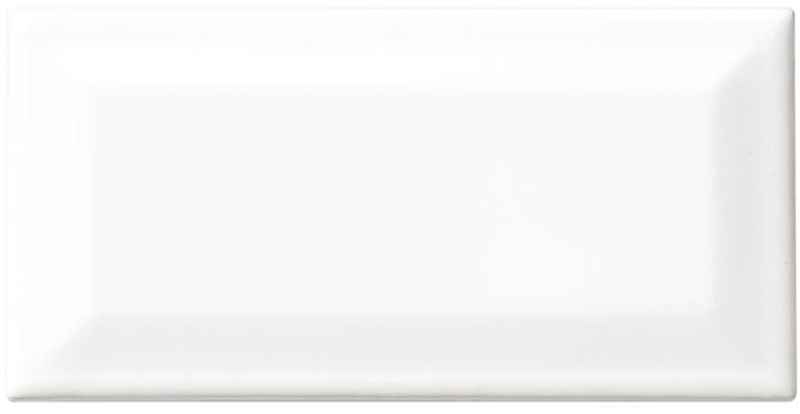 AMERICAN OLEAN - Starting Line White Beveled Subway Ceramic 3 X 6 - HOME IMPROVEMENT OUTLET