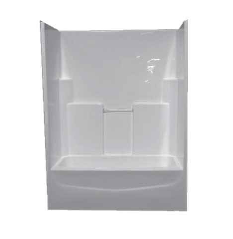 BATHTUB/SHOWER - MH 54x32 WH CENTER DRAIN - HOME IMPROVEMENT OUTLET