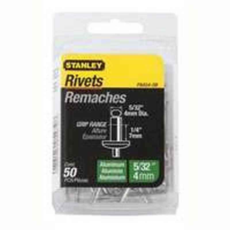 RIVETS - ALUMINIUM 5/32 D X 1/4 G - HOME IMPROVEMENT OUTLET