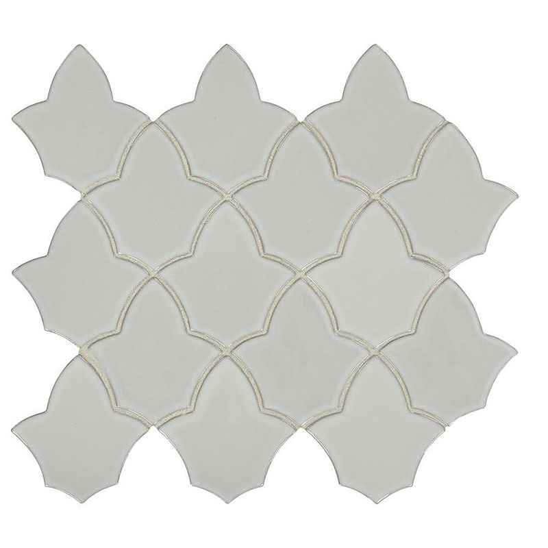 AMERICAN OLEAN - Parisian View Smoke Gray Mosaic Porcelain 12 X 14 - HOME IMPROVEMENT OUTLET