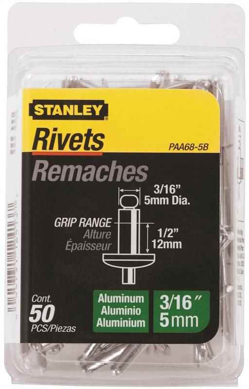 RIVET 3/16X1/2IN ALUMINUM - HOME IMPROVEMENT OUTLET