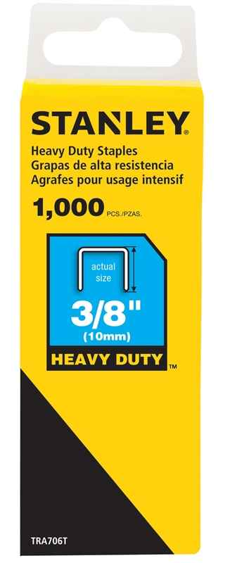 STAPLE HVY DTY BX1000 3/8IN - HOME IMPROVEMENT OUTLET