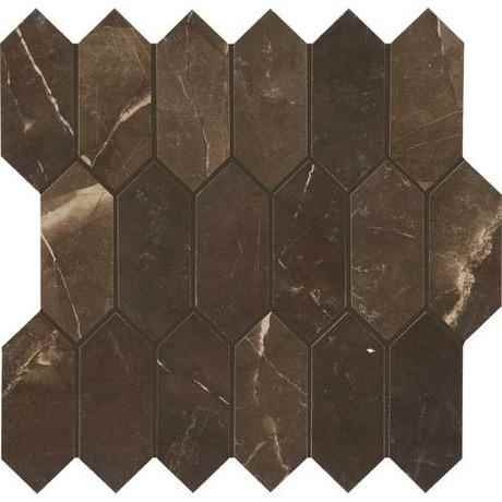 MOHAWK - Amani Marble Attache Mosaic Porcelain 12 x 12 - HOME IMPROVEMENT OUTLET