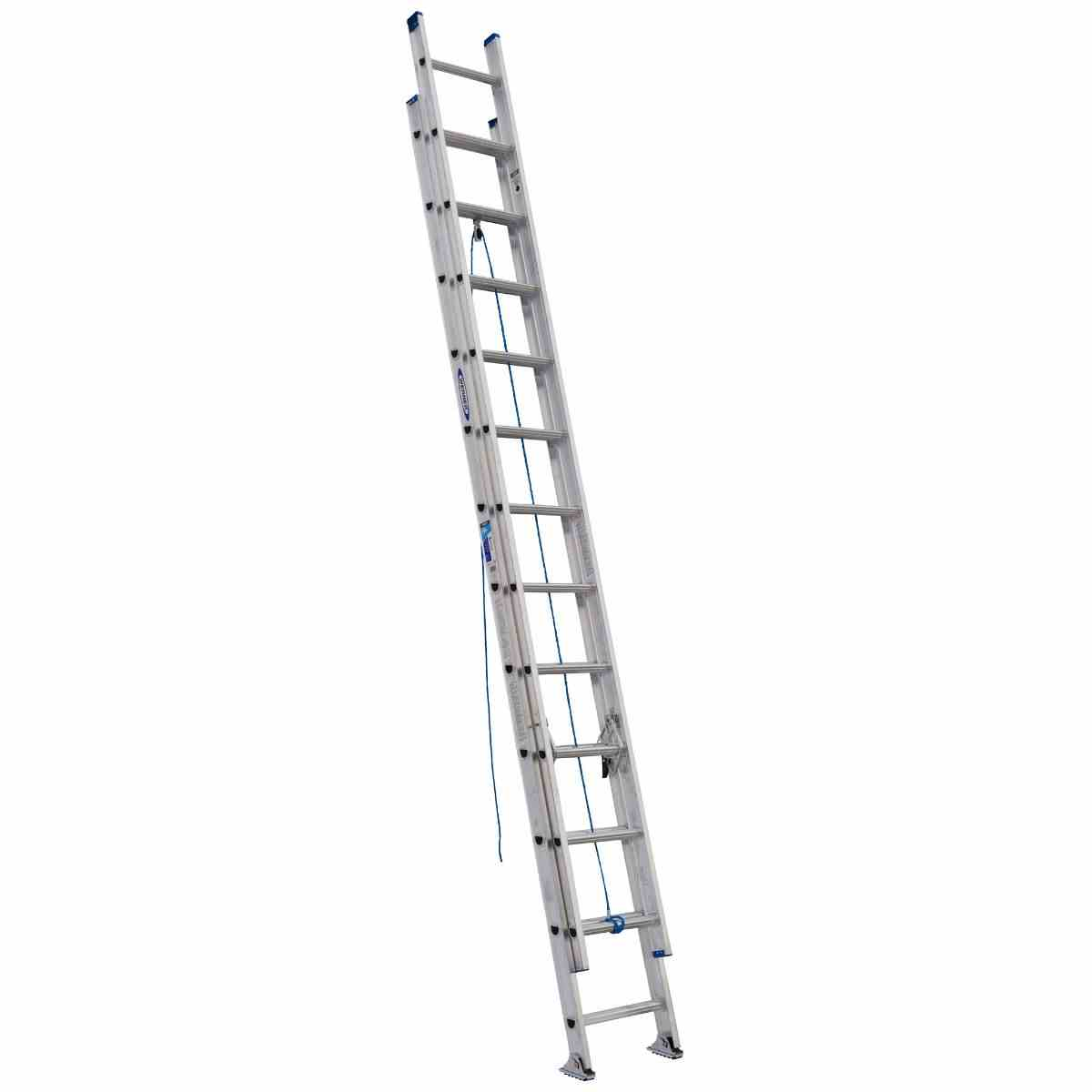 EXT LADDER - 24' 250# TYPE I ALUMINUM - HOME IMPROVEMENT OUTLET